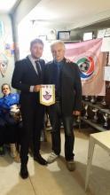Emiliano Belmonte con Francesco Metelli